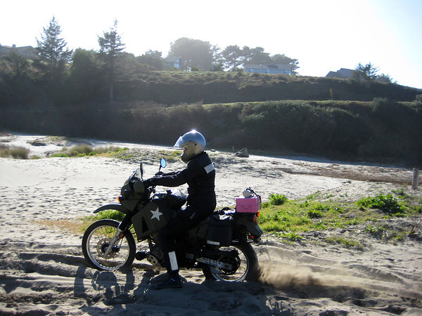 Riding the bikes to San Francisco in preparation of my move