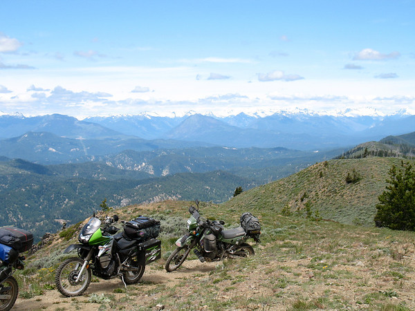 Chumstick ride in the central Cascades